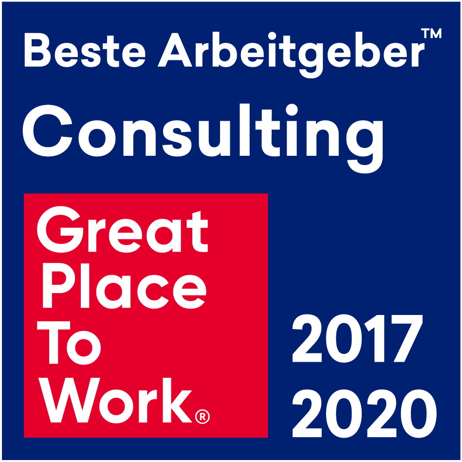 GSG: Great Place To Work - bester Arbeitgeber Consulting 2017 /2020