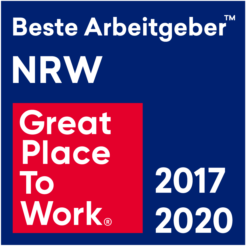 GSG: Great Place To Work - bester Arbeitgeber NRW 2017 /2020